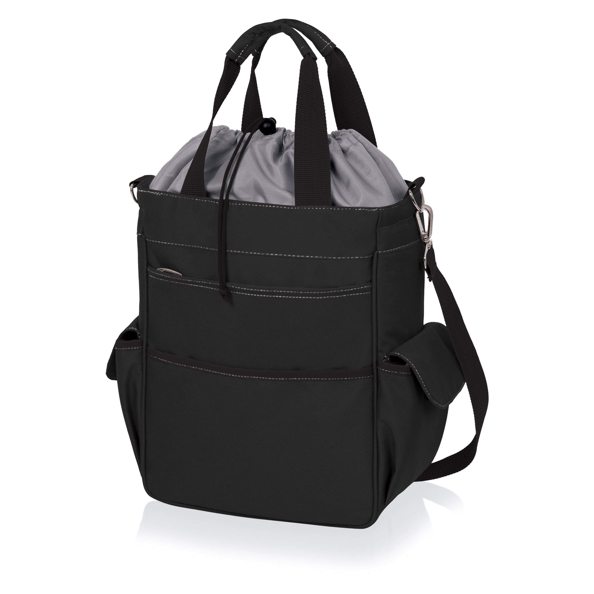 ONIVA - a Picnic Time Brand Activo Insulated Tote with Waterproof Lining, Black