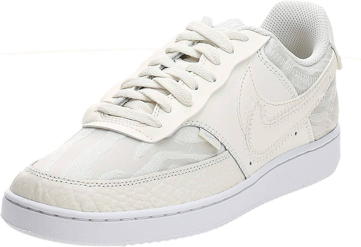 Marca comercial locutor limpiador  Amazon.com | Nike Court Vision Low Premium Trainers Women Beige Low Top  Trainers Shoes | Fashion Sneakers