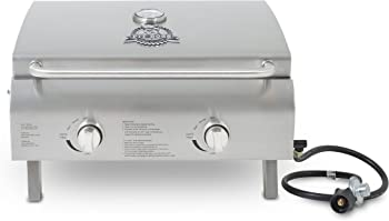 Stainless Steel Two-Burner Portable RV Grill (Bumper Mount) [Pit Boss Grills] Picture