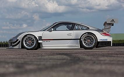 Clásico y músculo anuncios de coche y COCHE arte Porsche 911 GT3 R (2013)