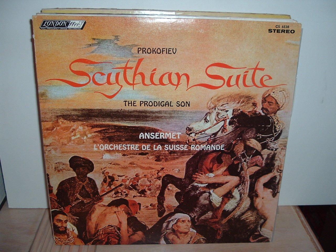 CS 6538 Ernest Ansermet - Prokofiev: Prod and The half Scythian Suite discount