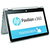HP Pavilion 13-u005na x360 Convertible Laptop (Natural silver) - (Intel i5-6200U, 8 GB RAM, 1TB HDD, Intel HD 520 Graphics Card, 13.3 inch FHD touch-screen, Windows 10)