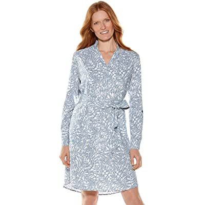 Coolibar UPF 50+ Women's Oxford Shirt Dress - Sun Protective at Women's Clothing store