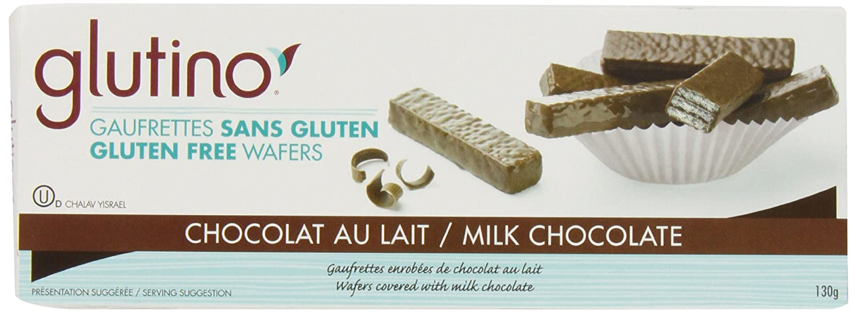Amazon.com: Glutino Chocolate Wafers, Chocolate Coated, 4.6-Ounce ...