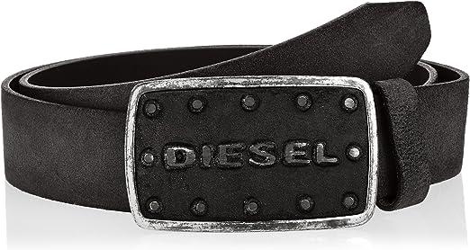 Diesel Belt Batto Belt Leather Brown with Buckle New