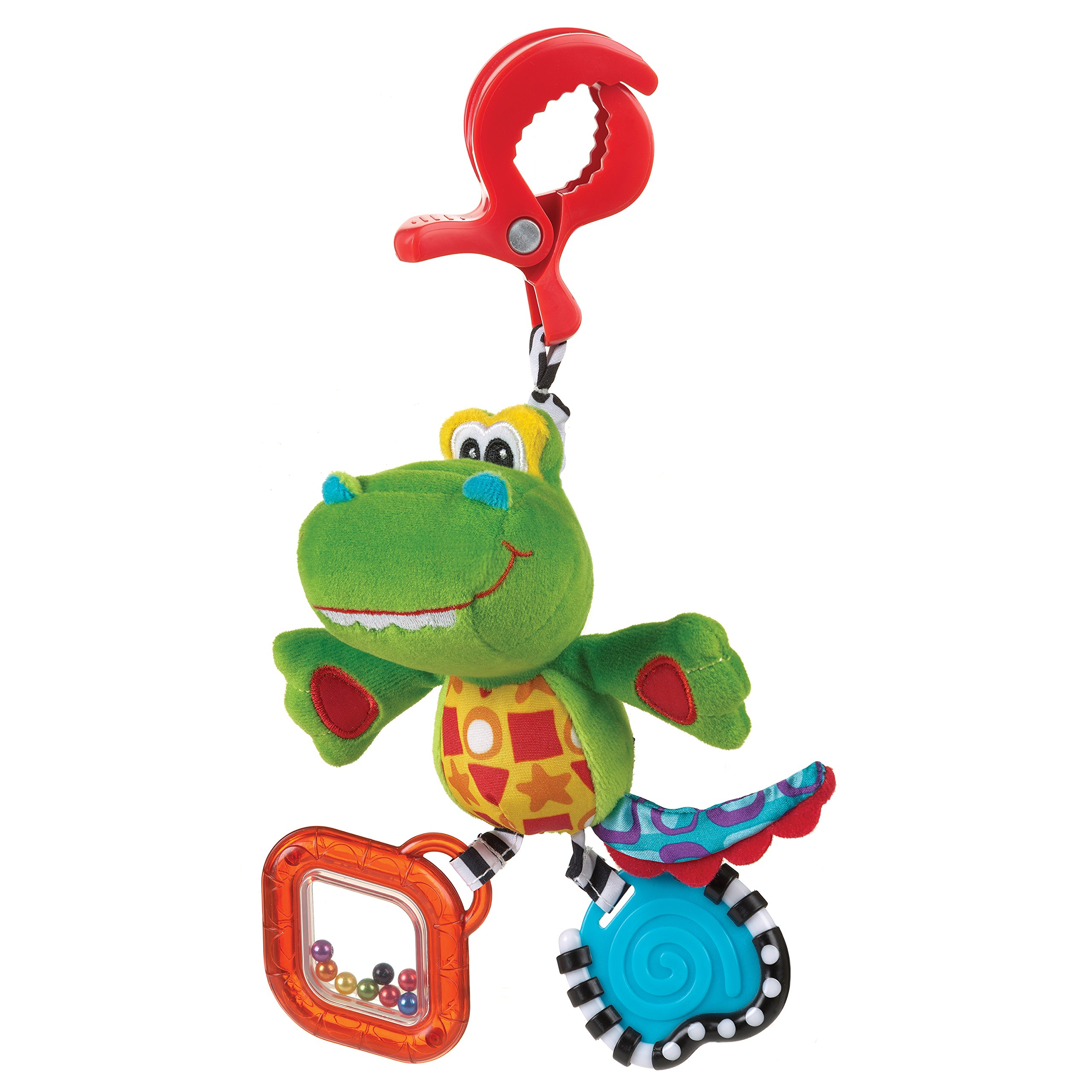 Playgro 0182855 Dingly Dangly Snappy the Alligator for Baby