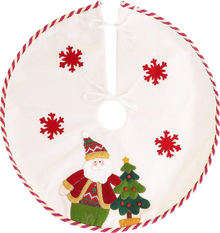 Christmas Concepts Christmas Tree Skirt 21 Inch Snowman Christmas Decorations