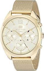 Tommy Hilfiger Women s 1781488 Analog Gold-Tone Watch 27e3ae76911