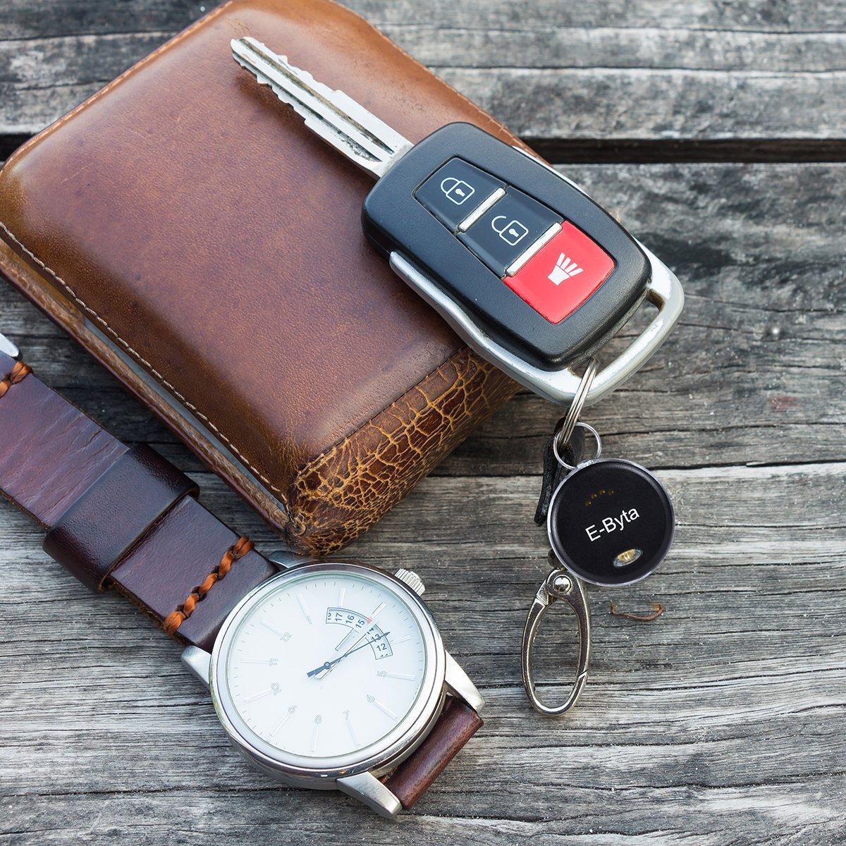 E-Byta 2PCS-Bluetooth key finder,bluetooth tracking devic,phone tracking device,bluetooth finder,phone/ Wallet/or key finder by E-Byta (Image #3)