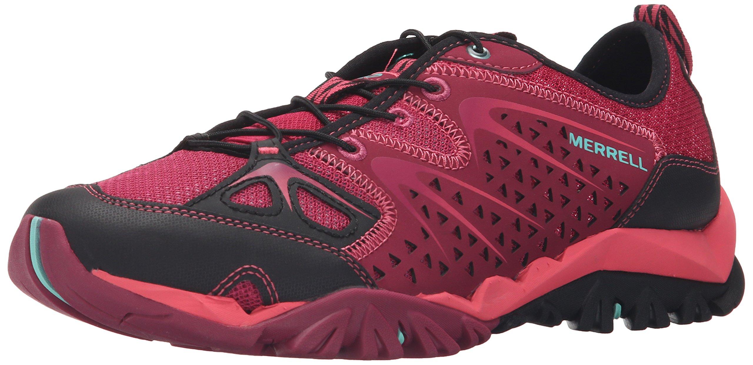 Merrell Women's Capra Rapid Hiking Water Shoe, Bright Red, 7.5 M US
