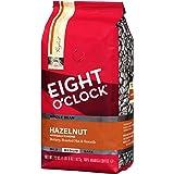 8 O'clock 榛子全咖啡豆,22 盎司