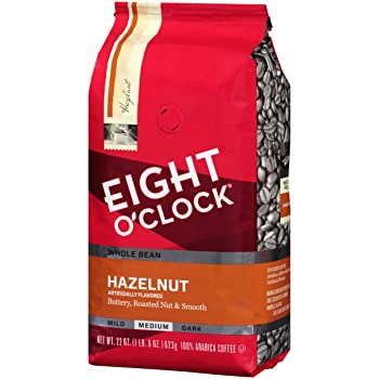 Eight O'clock Whole Bean Hazelnut Coffee