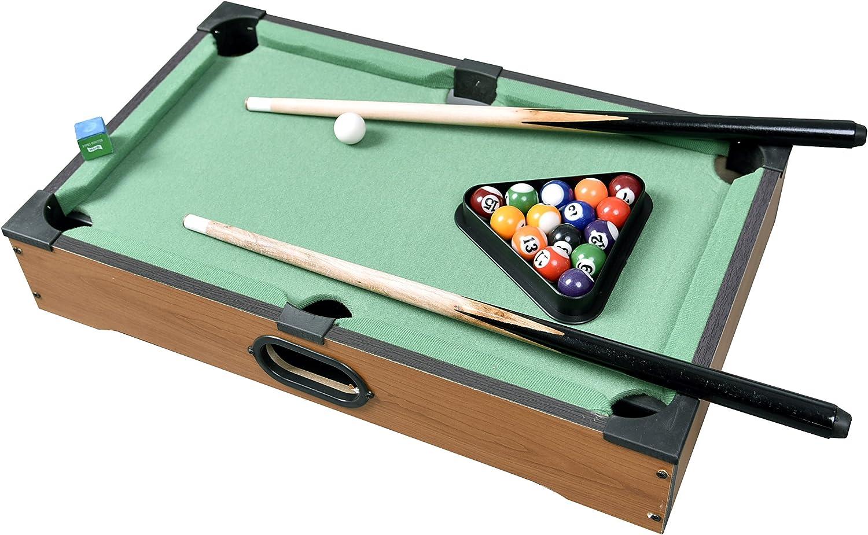 Deluxe Mini piscina talble billar Set w/bolas de juego de ...