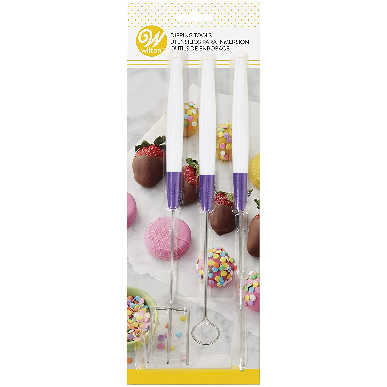 3 Pieces Candy Melts Candy Dipping Tool Set
