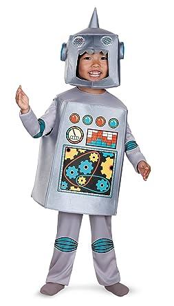 Disguise Artsy Heartsy Retro Robot Costume Silver/Red/Blue/Yellow Medium  sc 1 st  Amazon.com & Amazon.com: Disguise Artsy Heartsy Retro Robot Costume: Clothing
