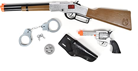 With Pump Action! Brand New Wild West Pop Gun