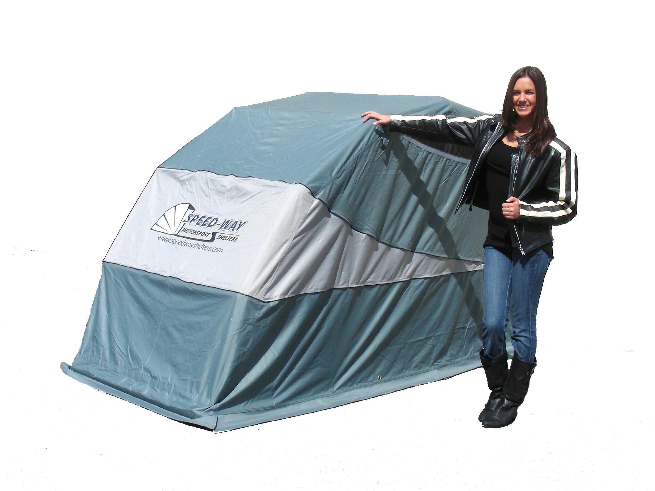 Speed-Way MTS-GRY Grey Standard/Small Sport Shelter by Speed-Way
