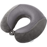 SAMSONITE Global Travel Accessories - Memory Foam Pillow Cooler Almohada de Viaje 30 Centimeters 1 Gris (Eclipse Grey)