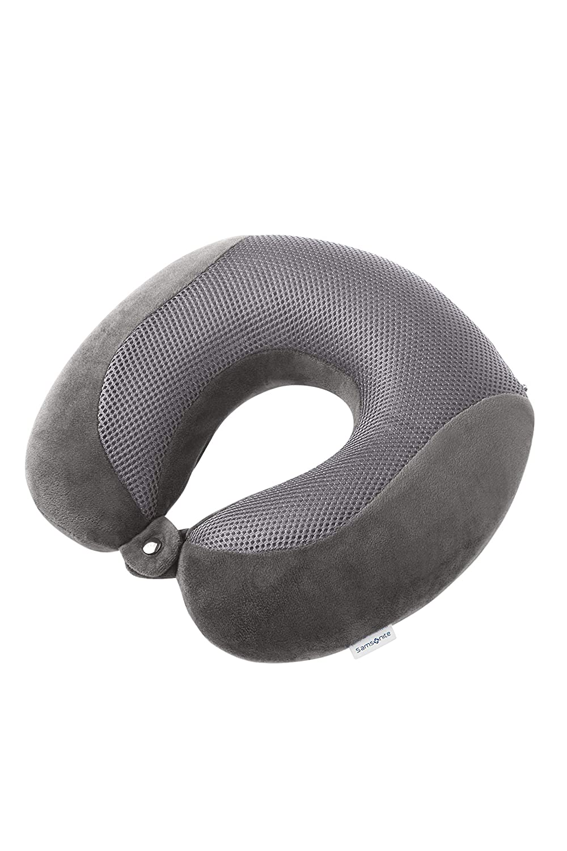 Memory Foam Pillow Cooler Oreiller de Voyage 30 Centimeters 1 Gris Eclipse Grey SAMSONITE Global Travel Accessories