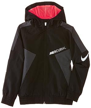 Nike Hoodie - Sudadera de fútbol para niño, Color Negro (Black/Anthracite/Hyper Punch/White), Talla XS: Amazon.es: Deportes y aire libre