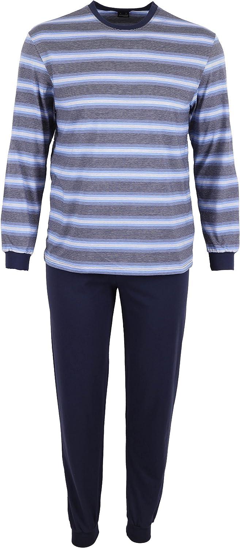 Betz 2 Piezas Pijamas para Hombres Ropa para Dormir Larga ...