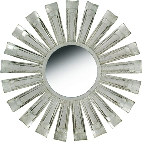 Split P Sun Round Mirror