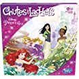 Hasbro Gaming Chutes and Ladders: Disney Princess Edition Board Game for Kids Ages 3 and Up, Preschool Game for 2-4 Players (