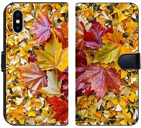 Amazon Com Apple Iphone X Flip Fabric Wallet Case Image