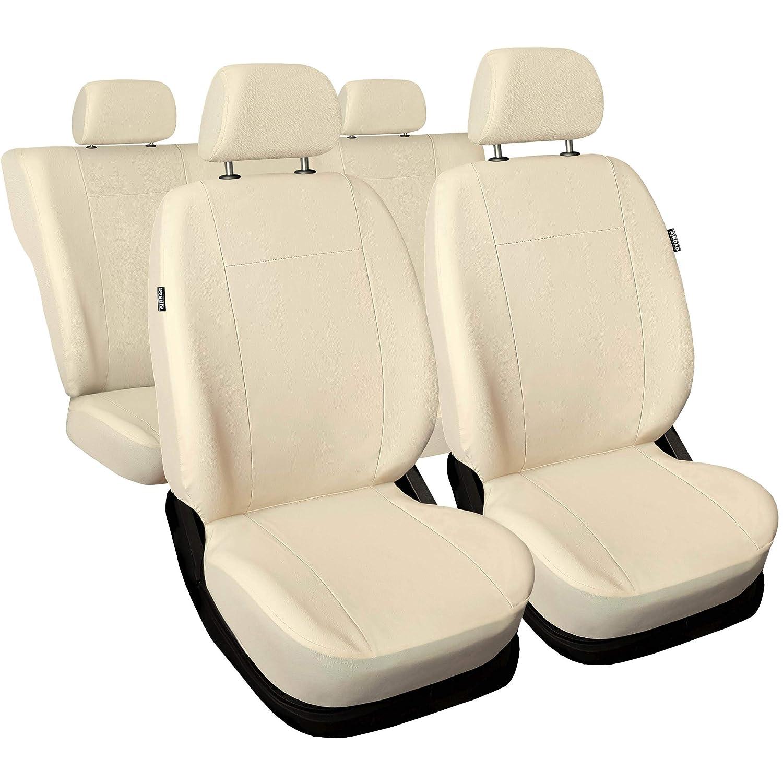 Autositzbezüge Mitsubishi Outlander Universal Set Beige Sitzbezüge Sitzbezug PKW