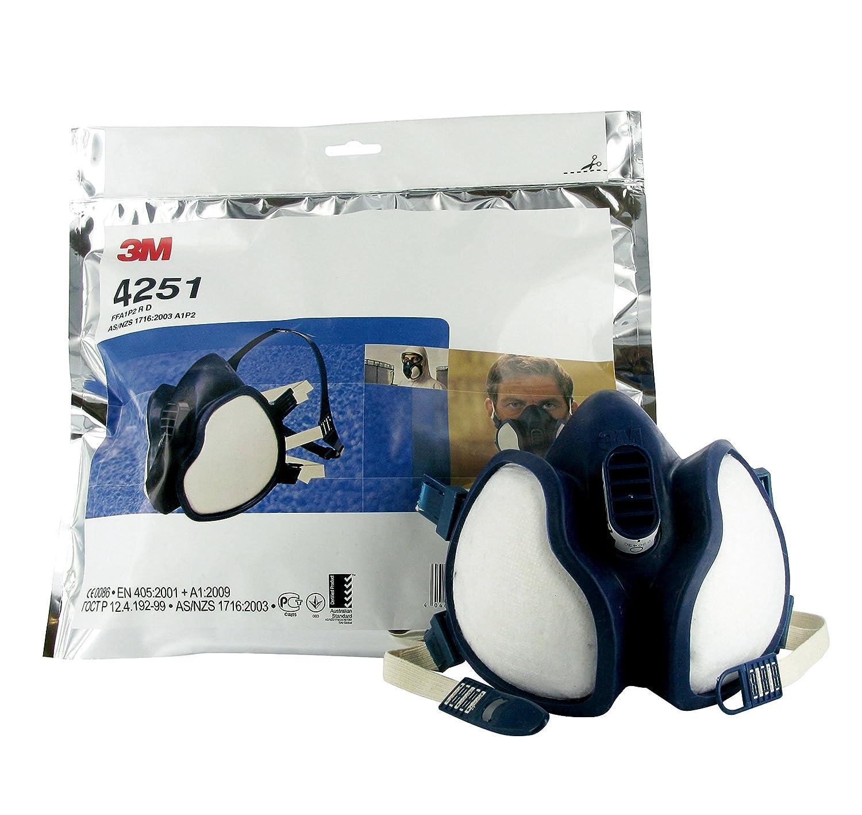 3M Atemschutzmaske 4251 FFA1P2D EN Sicherheit zertifiziert bei