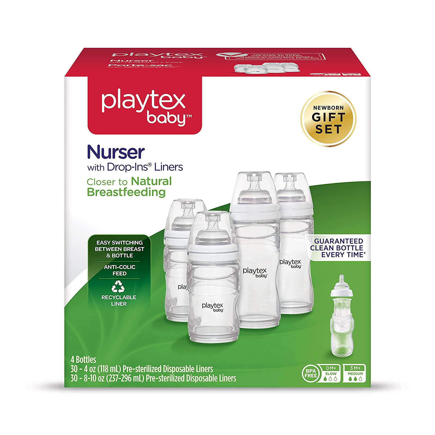Playtex Baby Premium Nurser Newborn Gift Set 0597000