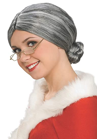 Rubies Costume Characters Old Lady   Mrs. Santa Wig 3d333c866