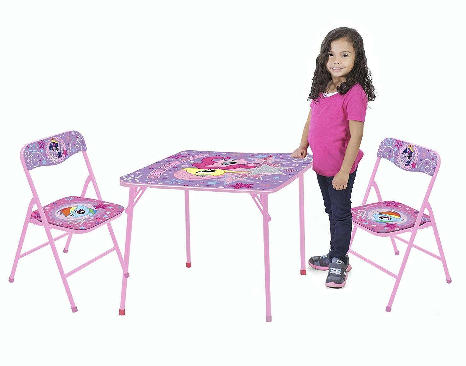 sc 1 st  Amazon.com & Amazon.com: My Little Pony Table and Chair Set (3-Piece): Toys u0026 Games