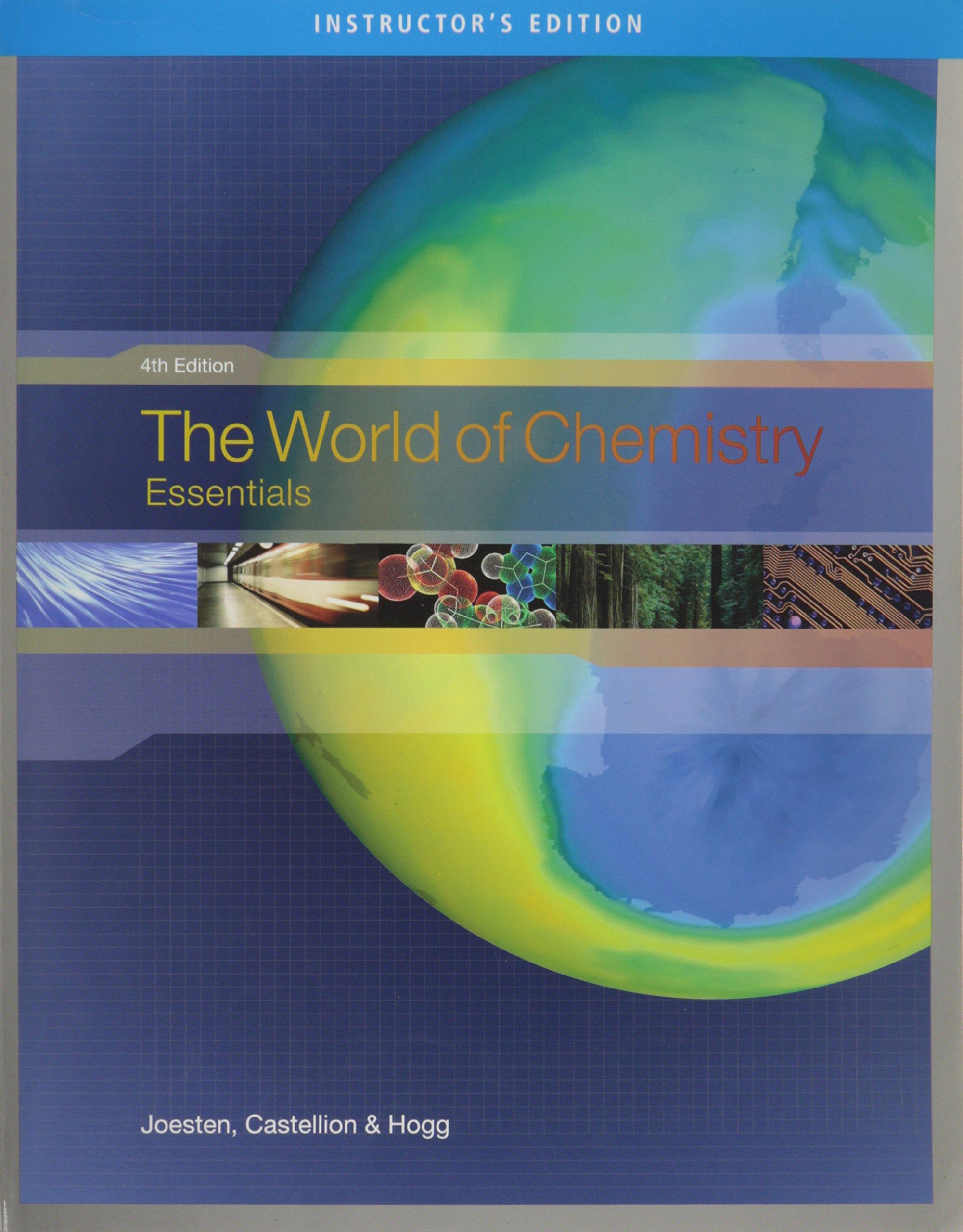 Amazon.com: IE World Chem Ess 4e (9780495015413): HOGG: Books