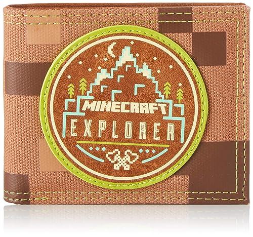 Bioworld Merchandising - Portefeuille Officiel Minecraft ...