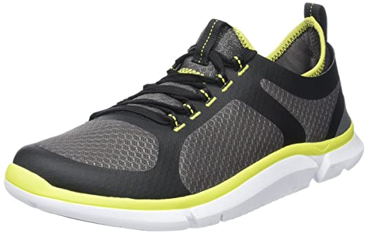 788125f8f Clarks Men s Triken Active Low-Top Sneakers Black  Amazon.co.uk  Shoes    Bags