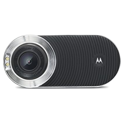 a11830ac928d7 Amazon.com  Motorola MDC100 Full HD (1080p) Dash Camera - Black ...