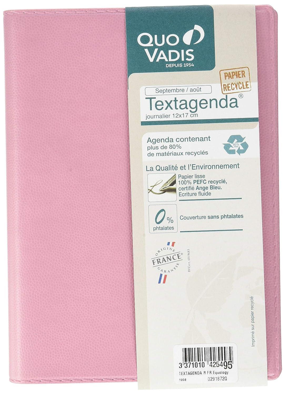 Quo Vadis Equology Textagenda - Agenda escolar diaria (12 x ...