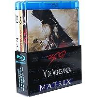 Paquete: 300 + V de Venganza + Matrix [Blu-ray]
