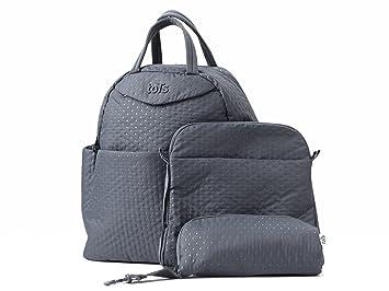0f626cff522 Baby Bag - Infinity Style by toTs (Dark Grey) Fashionable, Multi Interior  Pockets, Lightweight Fabrics,...