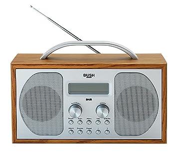 bush dab fm stereo radio in a wooden cabinet amazon co uk electronics rh amazon co uk Moderno Radio Manual RCA Radio Manuals