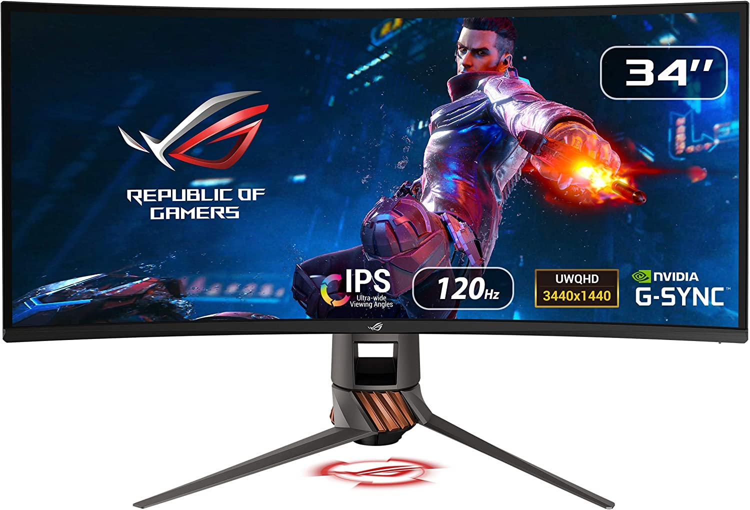 """Asus ROG Swift PG349Q 34"""" Curved: Best Ultrawide Monitor for MacBook Pro"""