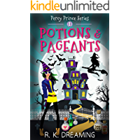 Potions And Pageants (Percy Prince Witching Cozy Mystery Book 1) book cover