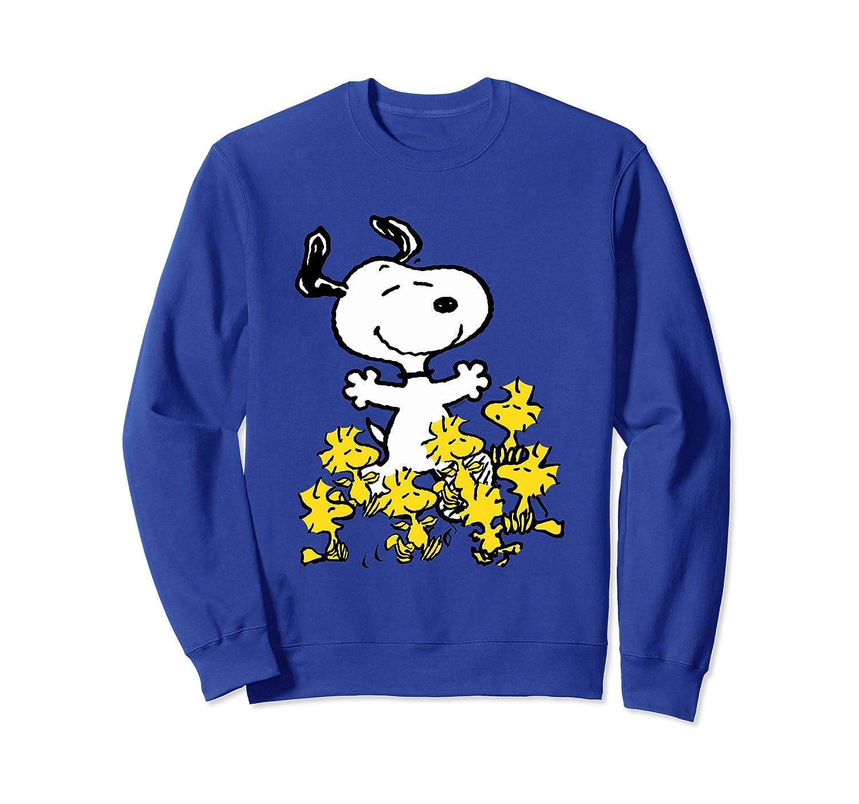 Peanuts Snoopy chick party Sweatshirt-mt