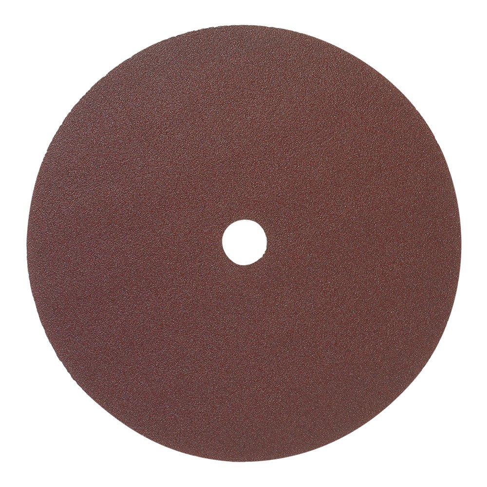 25 Pack Mercer Industries 302100 100 Grit Aluminum Oxide Resin Fiber Discs 5 x 7//8