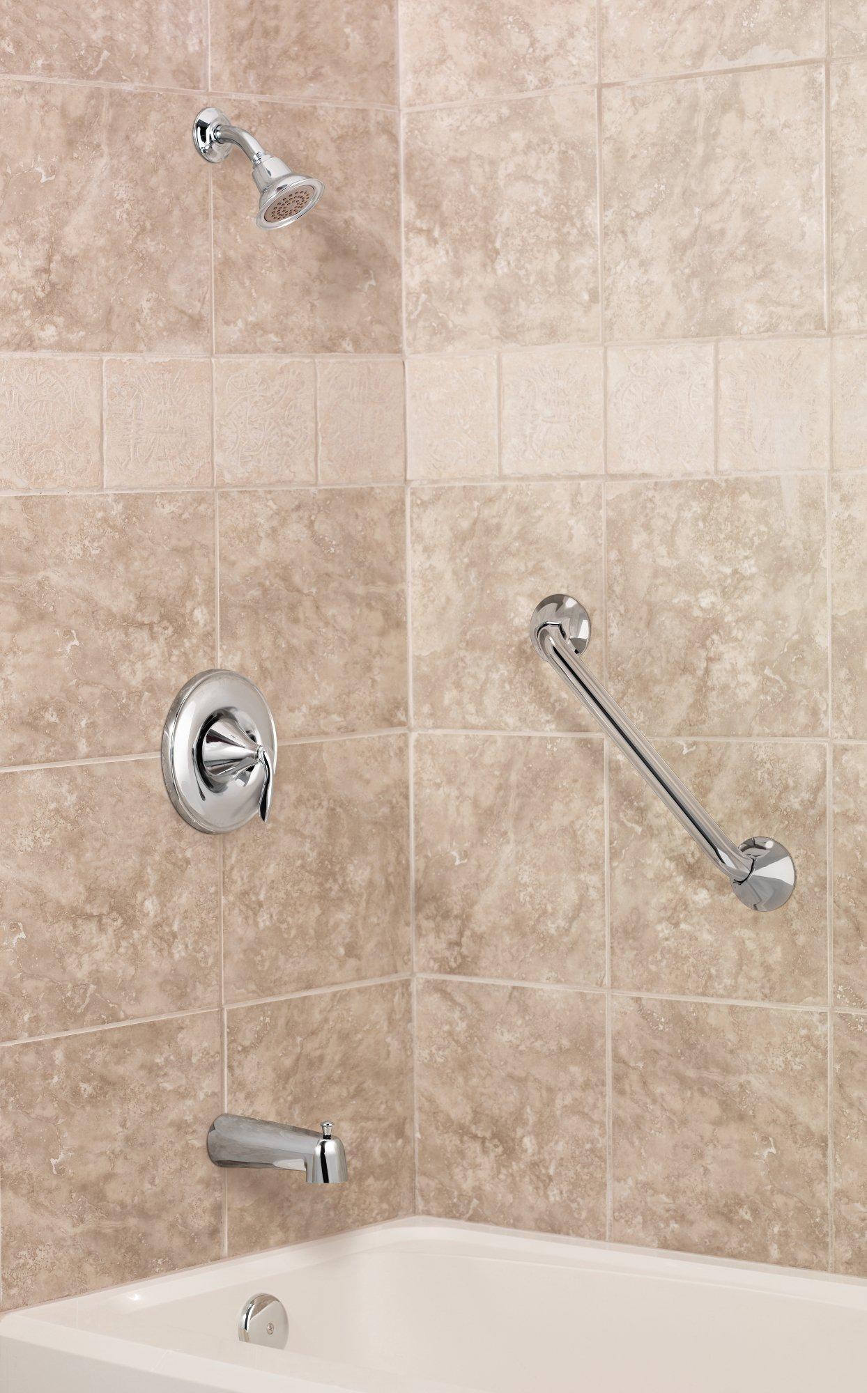 Moen T2131BN Eva PosiTemp Tub/Shower Valve Trim Kit without Valve, Brushed Nickel by Moen (Image #4)