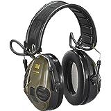 Orejeras Electrónicas para Caza 3M PELTOR SportTac protector auditivo, 26 dB, plegable, verdes, MT16H210F-478-GN