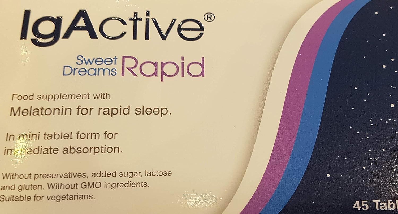 Amazon.com: Sweet Dreams Rapid Sleep Onset melatonin Form: Health & Personal Care