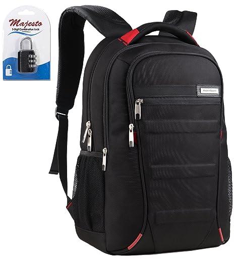 Slim Business Laptop Backpack 14 Inch for Women Men Water Resistant  Lightweight Large Padded Durable Ergonomic 46228b226b