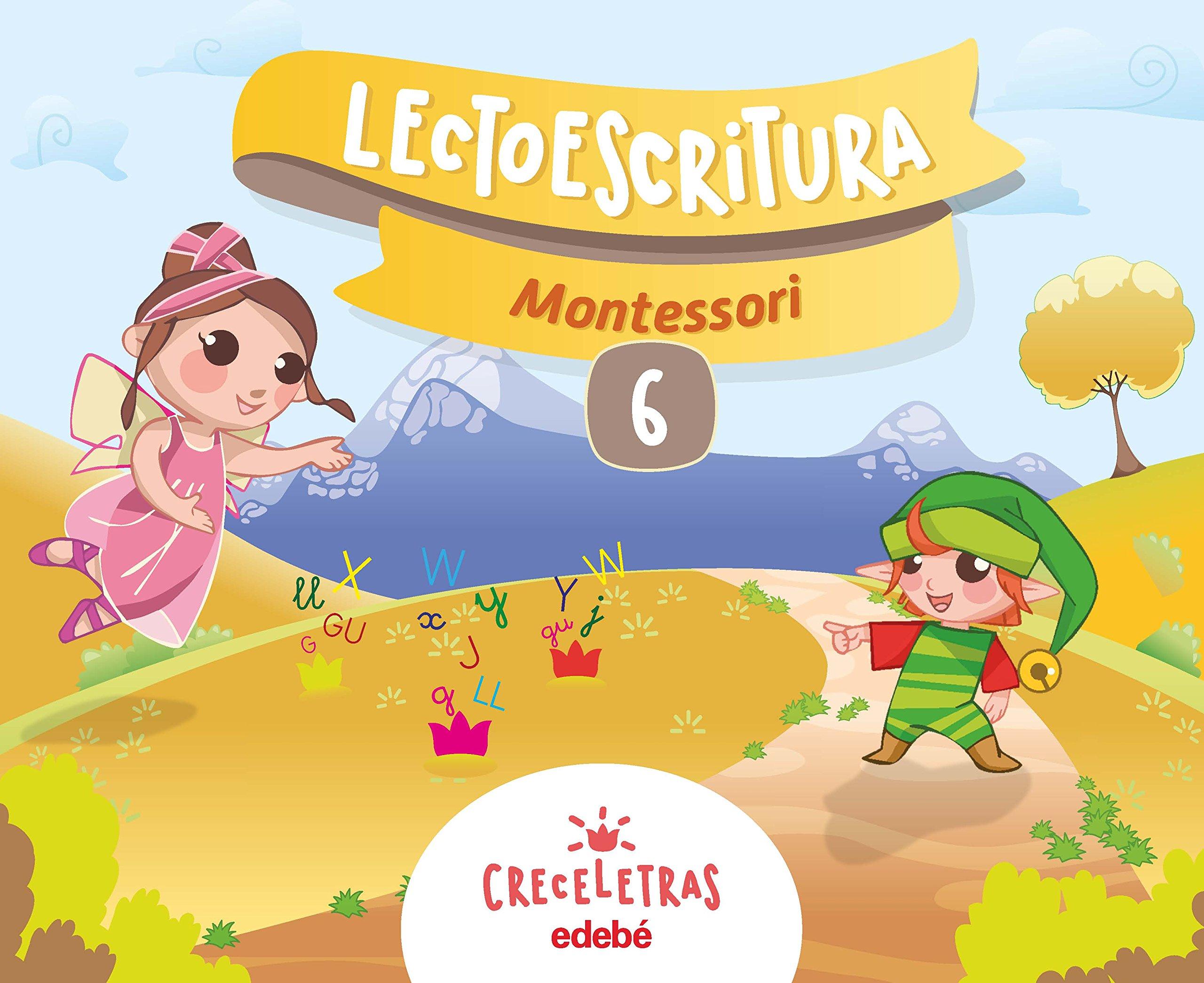 Download LECTOESCRITURA 6 CUAD MONTESSORI pdf